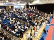Crowd at English Karate Federation Championships