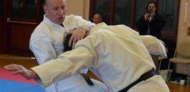 Sensei Andy Durant and Sensei Rod Blackshaw